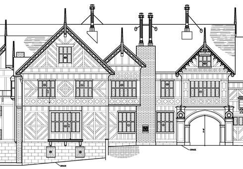 Portfolio: As-built Drawings of Morgan Manor